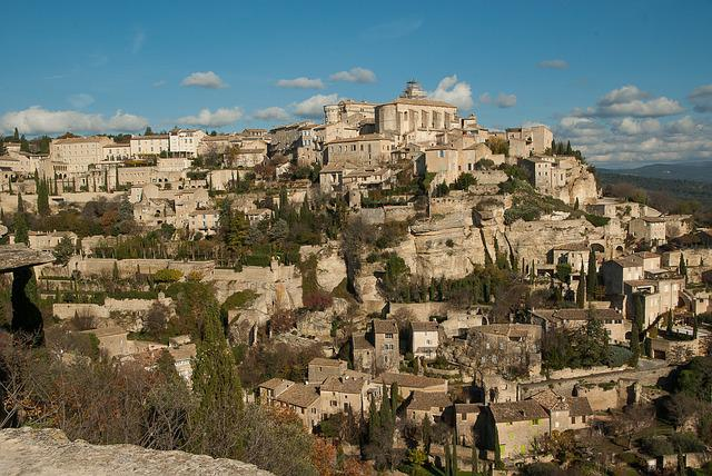 France, Lubéron, Gordes, Village