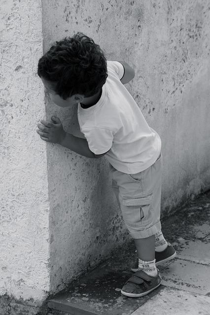 Street, Child, Hide And Seek, Lane, Games, Village