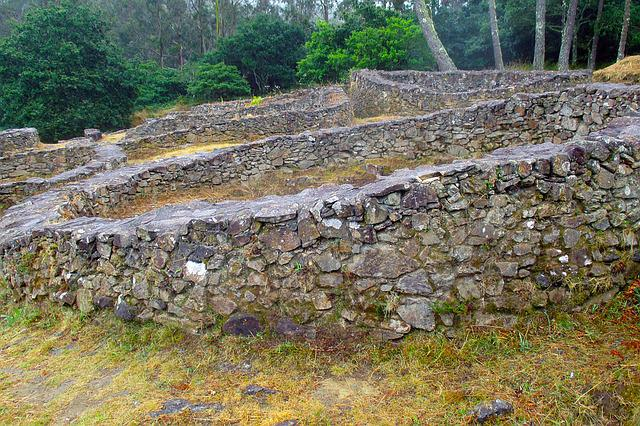 Spain, Galicia, Castro, Village, Prehistory, Housing