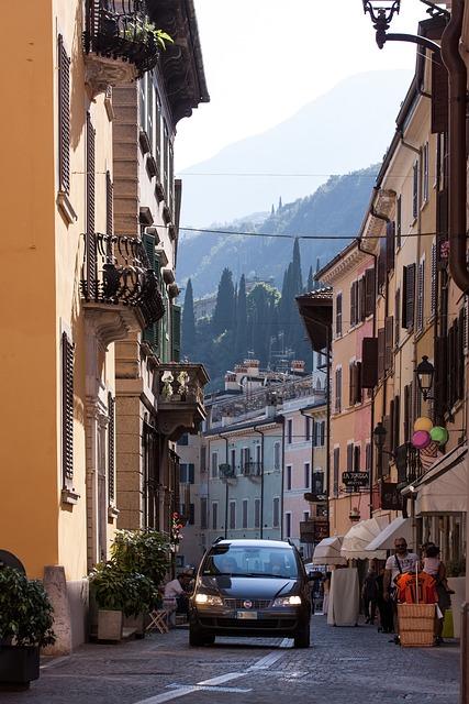 Italy, Old Town, Gargnano, Garda, Village, Alley