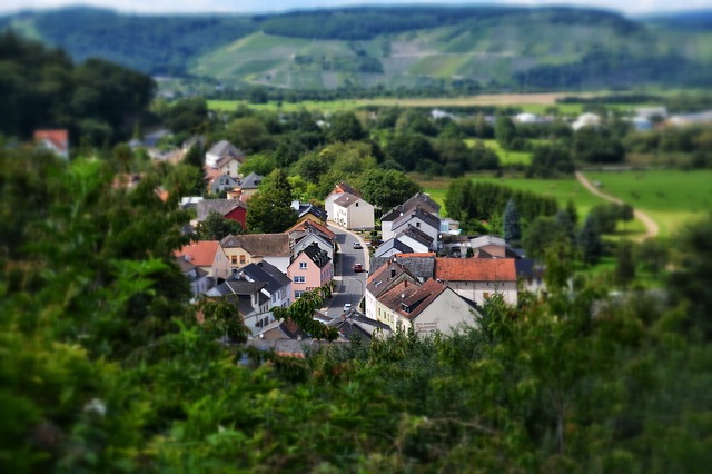 Mosel, Village, Miniature