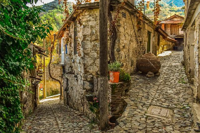 Street, Architecture, Traditional, Stone, Village