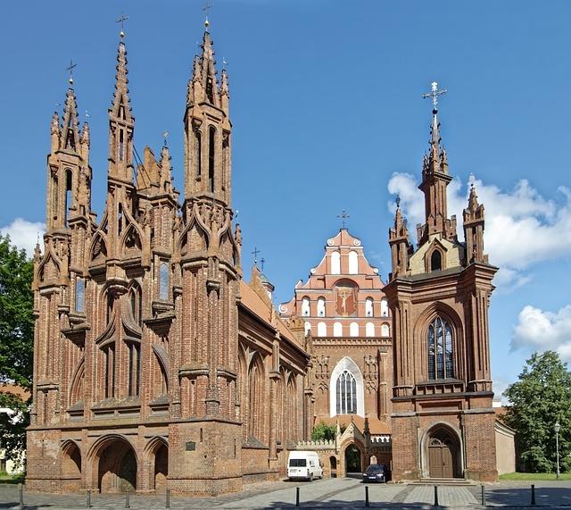 Lithuania, Vilnius, Historic Center