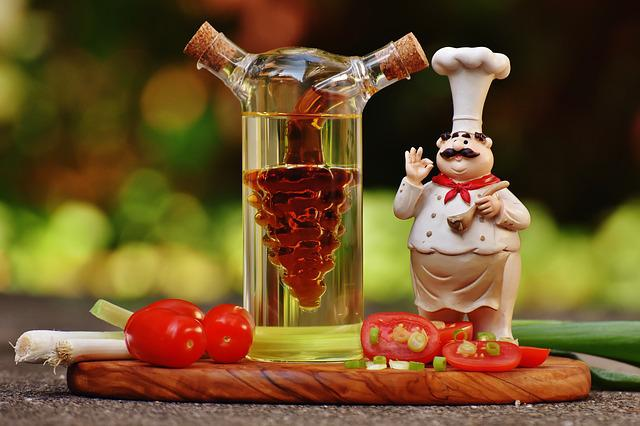 Cooking, Fig, Vinegar, Oil, Tomatoes, Onions