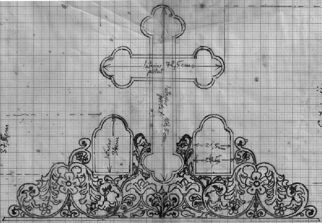 Cross, Plant, Grapes, Vines, Church, Christian