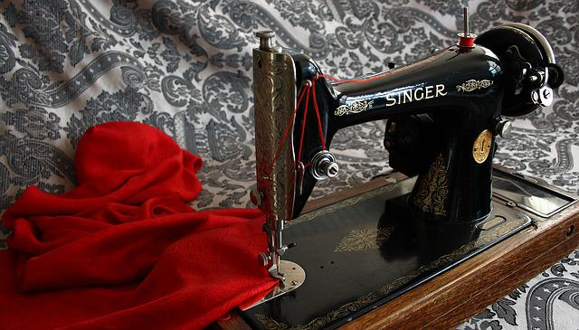 Sewing Machine, Antique, Vintage