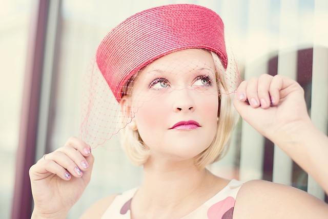 Vintage, Woman, Pretty, Glamorous, Attractive, Hat
