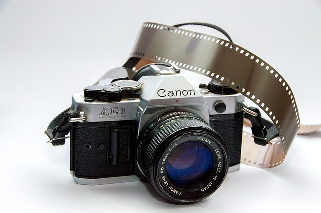 Canon, Slr, Camera, Photography, Old, Vintage