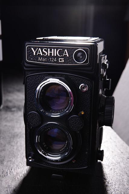 Yashica, Studio, Vintage Cameras