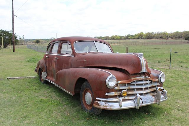 Car, Pontiac, Auto, Automobile, Vintage, Antique