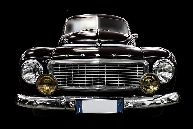 Auto, Car, Machine, Vintage Car, Vintage Machine
