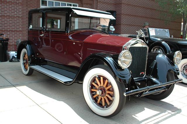 Vintage Car, Classic Automobile, Transportation