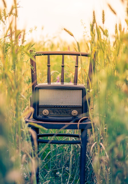 Chair, Classic, Radio, Vintage
