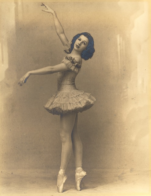 Vintage, Retro, Ballerina, Dancer, Classic, Pointe