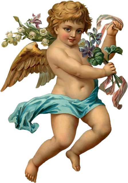 Vintage Angel, Angel, Ephemera, Vintage, Cherub, Cupid