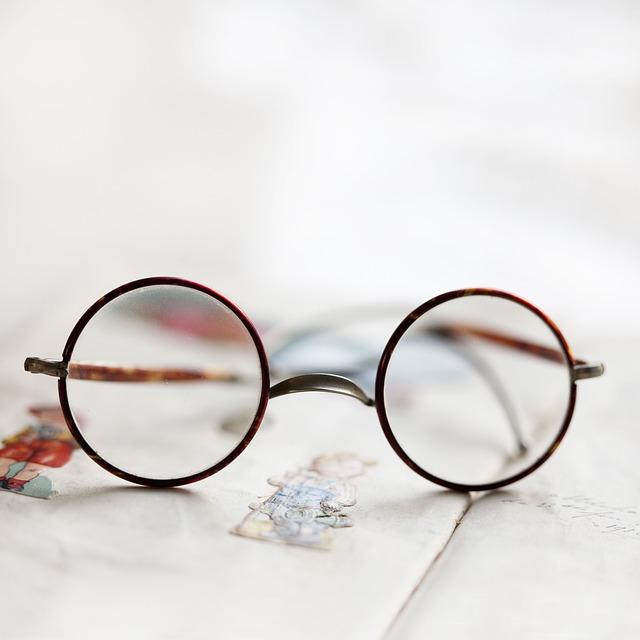 Glasses, Eyes, Brocante, Vintage, Old, Antique
