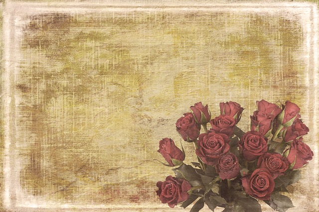 Vintage, Shabby-chic, Background, Retro, Flowers