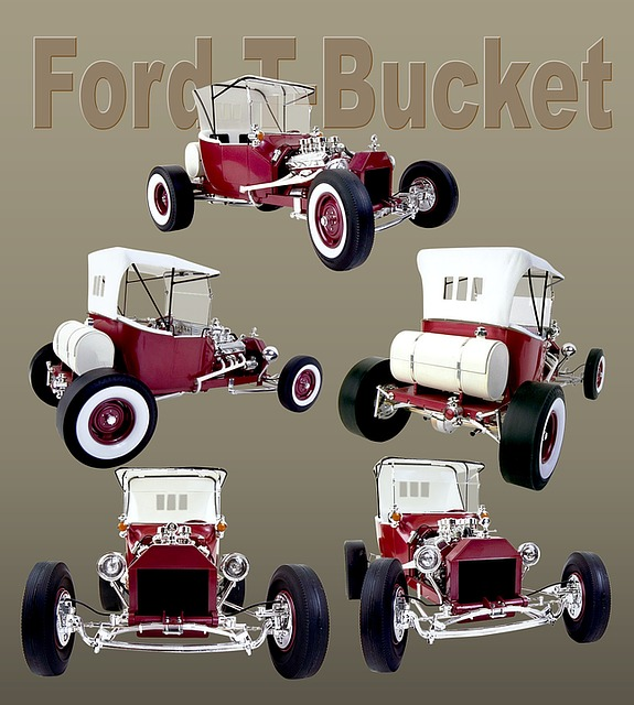 Ford, Car, Oldtimer, Auto, Ford T-bucket, Vintage