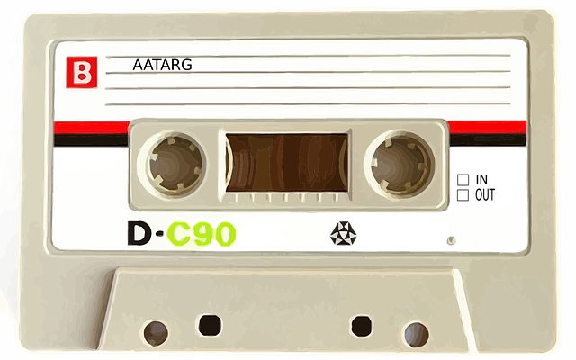 Cassette, Tape, Recorder, Vintage, Old, Music, Audio