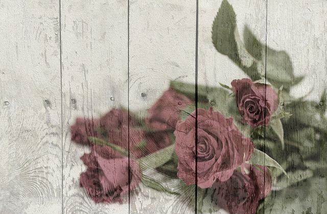 Vintage, Shabby Chic, Country House, Nostalgic, Roses