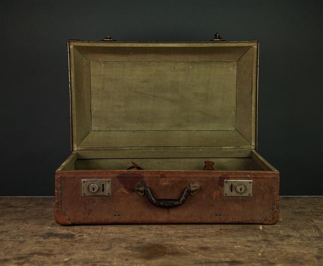 Briefcase, Vintage, Oldschool