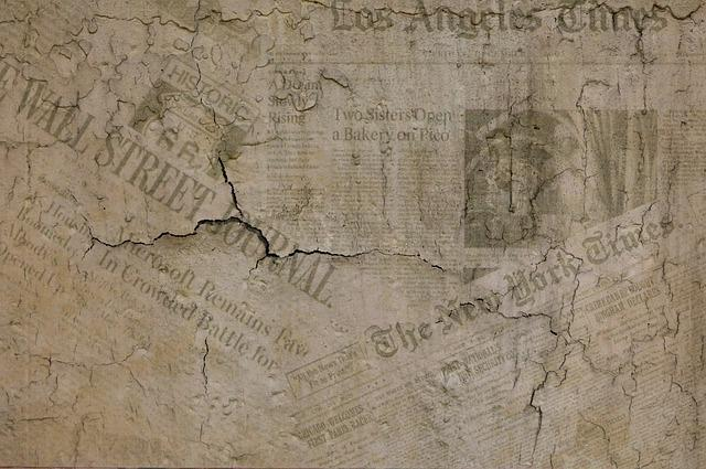 Background, Newspaper, Press, Old Fashioned, Vintage