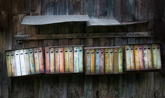 Mailboxes, Vintage, Rusty, Post, Retro, Letter