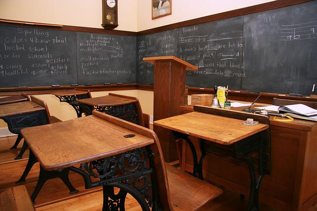 Free Photo Vintage Schoolroom Blackboard Chalkboard School