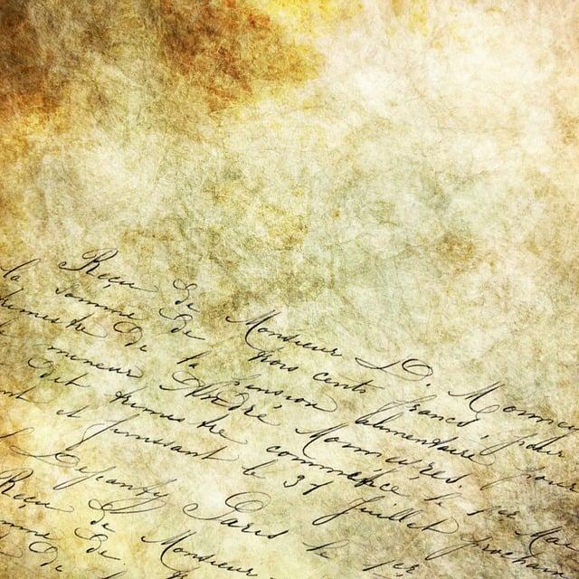Calligraphy, Background, Stone, Vintage, Script