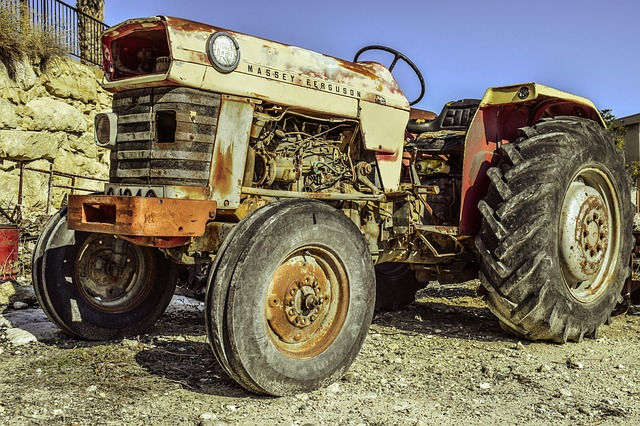 Tractor, Antique, Old, Agriculture, Machinery, Vintage