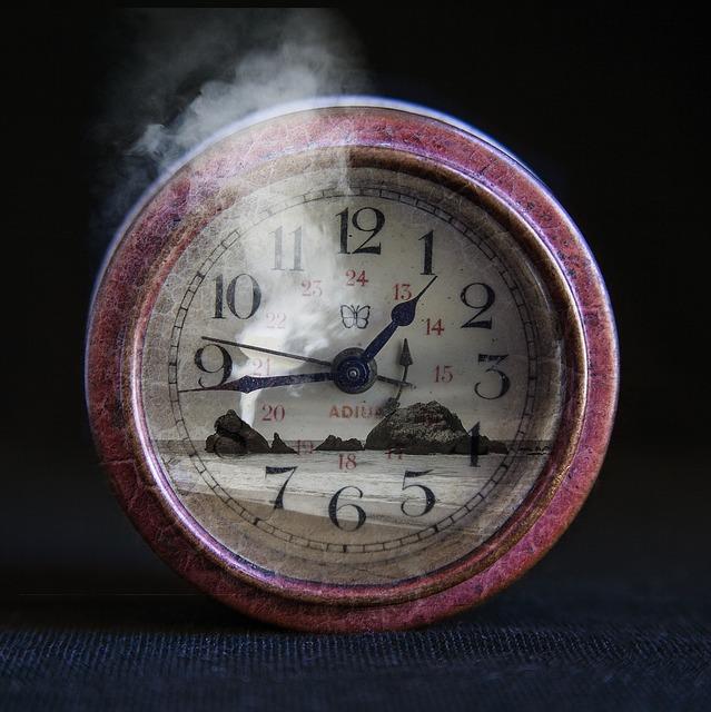 Time, Clock, Number, Watch, Vintage