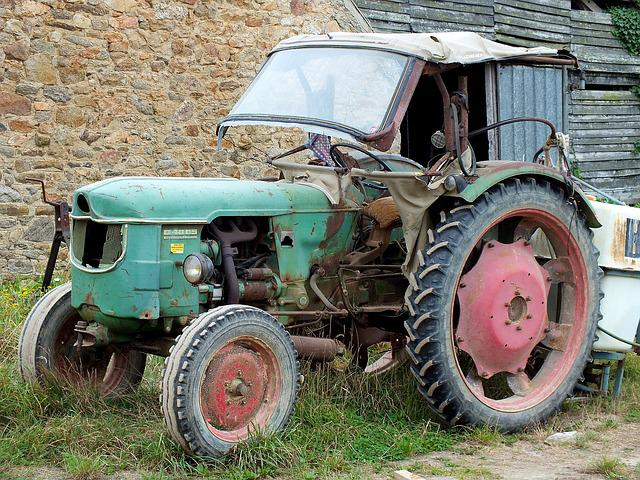 Machine, Wheel, Vehicle, Vintage, Transport