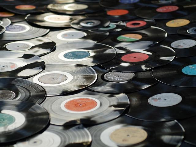 Vinyl, Retro, Plastic, Old, Black, Music, Disc, Record