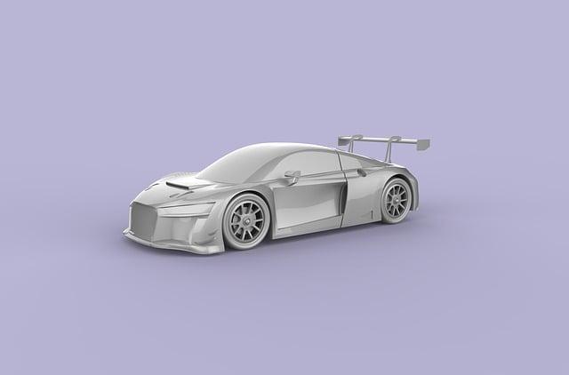 Car, Automotive, Model, Sport Car, Violet