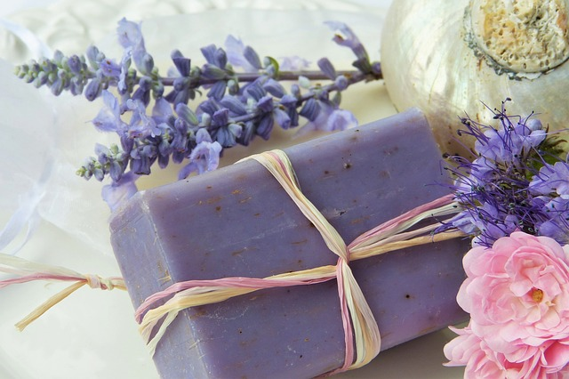 Soap, Purple, Lavender, Rose, Shell, Violet, Nature