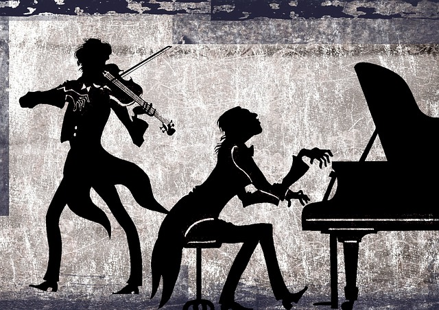 Classical, Collage, Violin, Piano, Violinist, Pianist