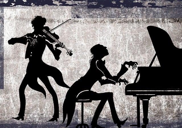 Classical, Collage, Violin, Piano, Violinist, Pianist
