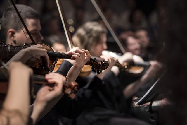 Violins, Musicians, Orchestra, Instruments