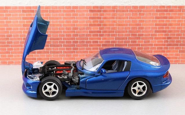 Model Car, Viper, Dodge, Model, Auto, Oldtimer, Toys