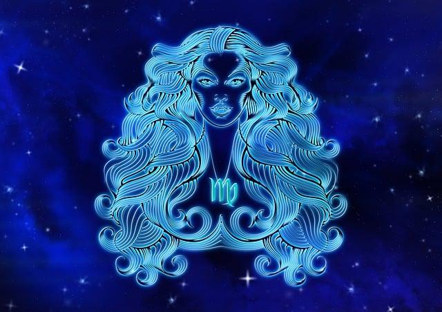 Zodiac Sign, Virgin, Horoscope, Design, Astrology