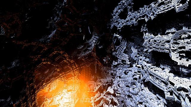 Volcano, At The Inside, Virtual Landscape, Utopia