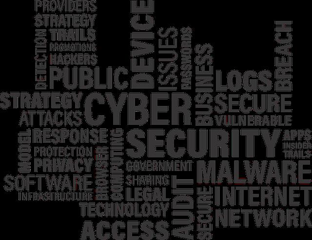 Cyber, Security, Word, Computer, Cloud, Virus, Trojan