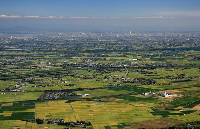 Nagoya, Japan, Landscape, Scenic, City, Vista, Sky