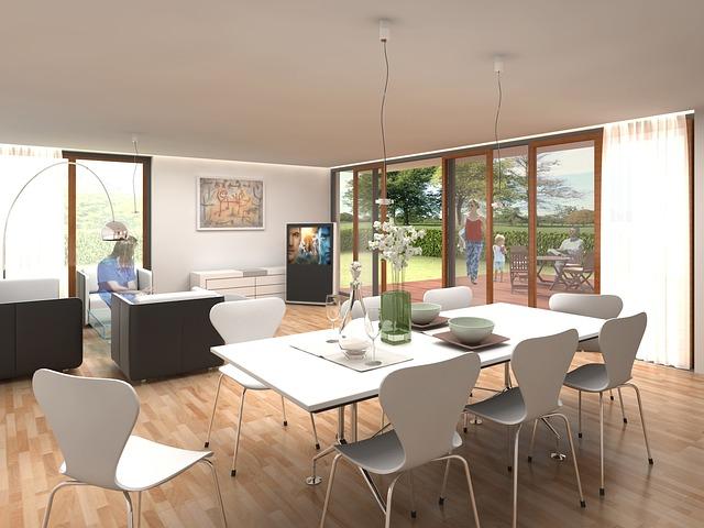 Interior, Villa, Rendering, Visualization, Architecture