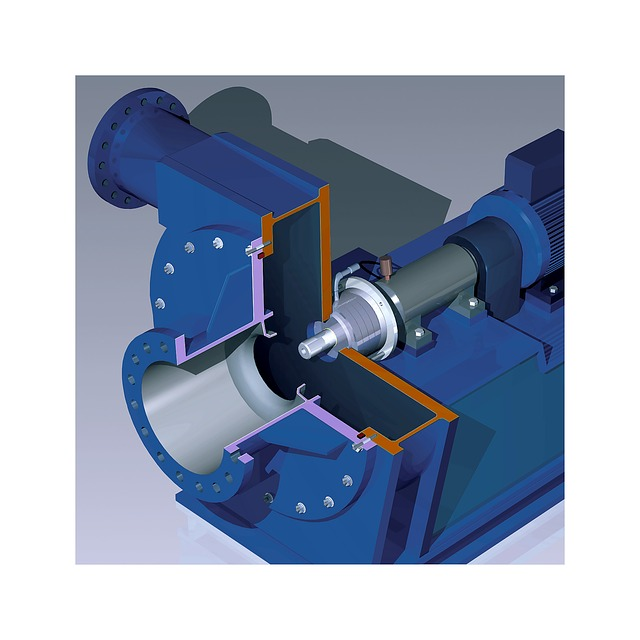 Turbo Blower, Turbo Compressor, Fima, Visualization
