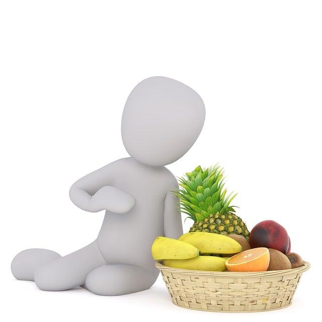 Fruit, Fruit Basket, Healthy, Vitamin, Vegan