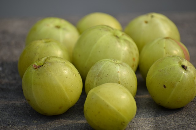 Emblic, Amla, Fruit, Fresh, Healthy, Vitamins