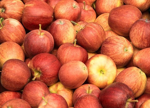 Apple, Red, Fruit, Healthy, Autumn, Vitamins, Frisch