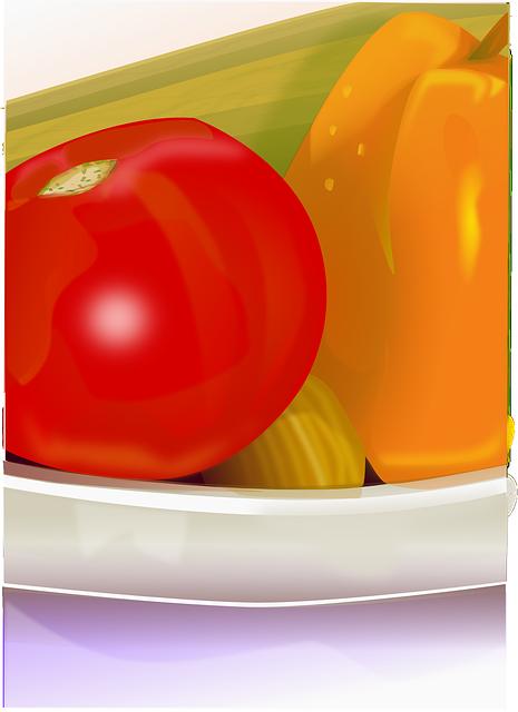 Vegetables, Tomato, Paprika, Pepper, Bowl, Vitamins