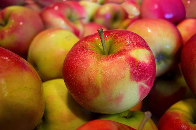 Apples, Jonagold, Healthy, Food, Vitamins, Ripe, Many